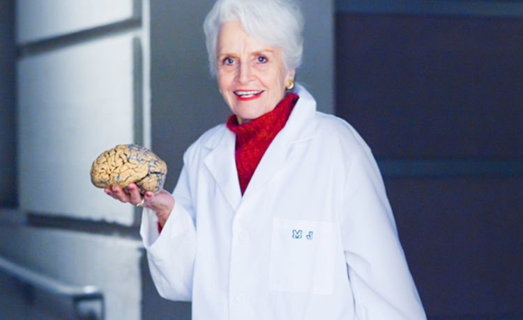 Marian Diamond e il cervello nella cappelliera